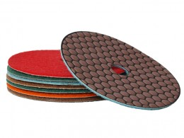 125mm Honeycomb - Dry Polishing Pad Range